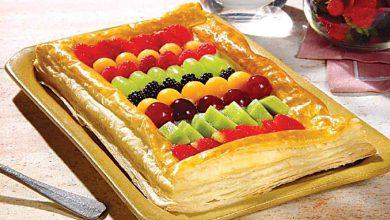 Photo of Torta folhada de frutas