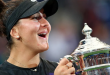 Photo of Bianca Andreescu rises to 5th in world tennis rankings after U.S. Open win