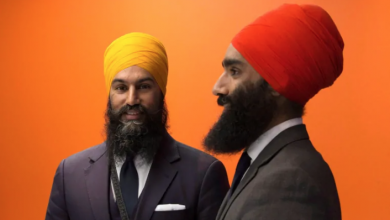 Photo of Jagmeet Singh proud of brother for confronting heckler at MuslimFest