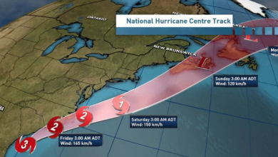 Photo of Hurricane Dorian to hit Atlantic Canada with high winds, downpours