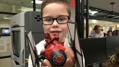 Photo of The Force is with him: Alberta boy gets 'Star Wars' model of his heart