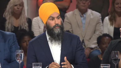 Photo of Jagmeet Singh appears on top Quebec talk show, says he shares Quebecers' values