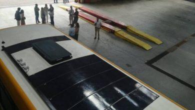 Photo of Autocarros do Funchal com painéis solares