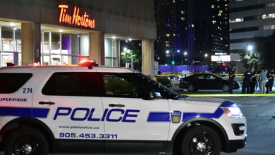 Photo of Man in hospital with stab wounds after fight at Mississauga Tim Hortons