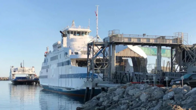 Photo of Quebec ferry service interrupted after ferry hits dock