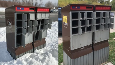 Photo of Business owner wants better Canada Post community mailboxes