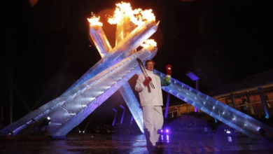 Photo of Flame on: Vancouver Olympics torch relay launched 10 years ago