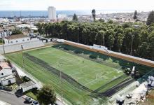 Photo of Relvado de estádio açoriano certificado pela FIFA