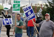 Photo of GM shares rise as sources say automaker, union nearing deal to end strike