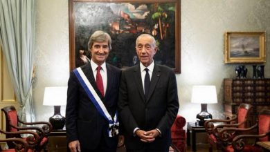 Photo of Tranquada Gomes recebe Ordem do Infante D. Henrique