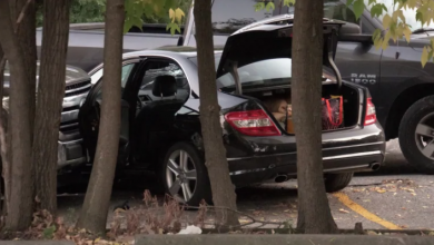 Photo of SIU investigating OPP shooting in Etobicoke that sent suspect to hospital