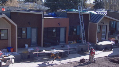 Photo of Tiny home village for veterans opens in Calgary this week