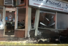 Photo of Man charged with impaired driving after car slams into west-end storefront