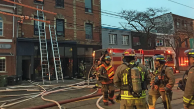 Photo of Fire badly damages late 19th-century building near Queen and Dufferin