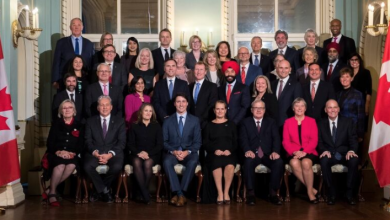 Photo of 7 new faces at cabinet table as Trudeau unveils his inner circle