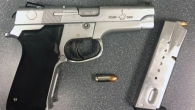 Photo of Police searching for RCMP pistol stolen at shopping mall