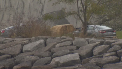 Photo of Body found after vehicle fire near Scarborough Bluffs