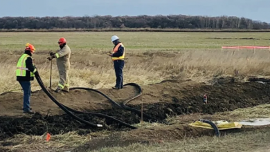 Photo of 10 times more land affected by leak from Keystone pipeline than first thought