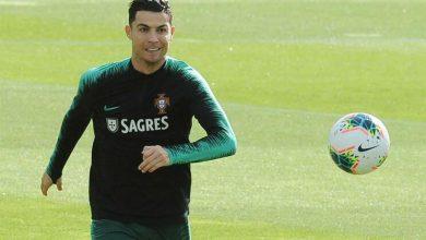 Photo of Ronaldo sem limitações no primeiro treino de Portugal