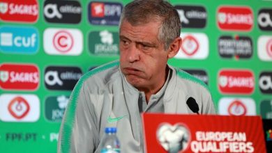 Photo of Fernando Santos irritado com perguntas sobre Ronaldo