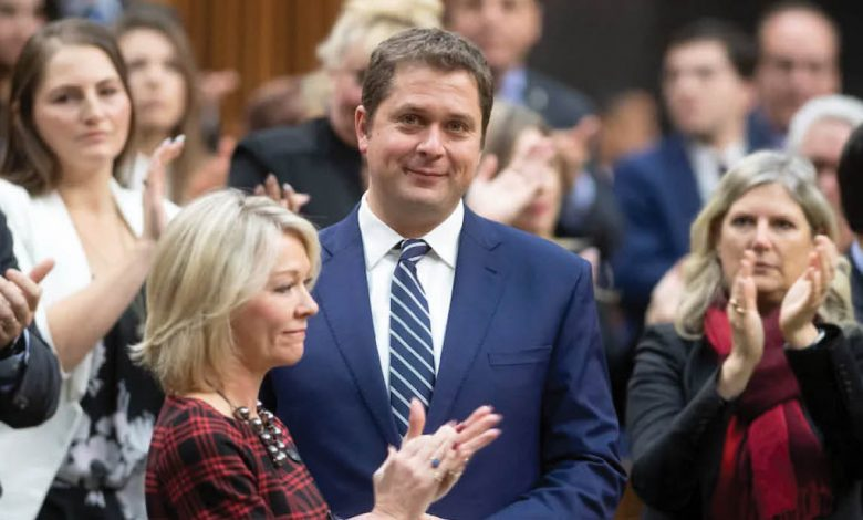 Photo of Andrew Scheer stepping down as Conservative Party leader