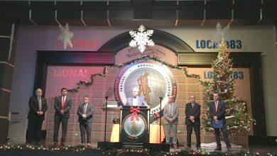 Photo of 183 junta delegados e representantes em jantar de Natal