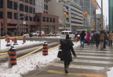 Photo of Construction hub pilot project aims to make Yonge-Eglinton safer for pedestrians