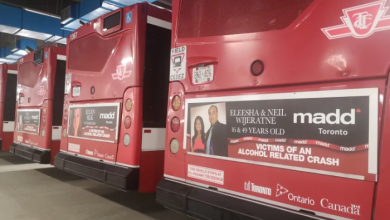 Photo of Toronto chapter of MADD, TTC team up to encourage sober driving this holiday season