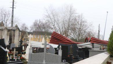 Photo of Queda de telhado danifica cemitério da Apúlia em Esposende