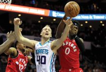 Photo of NBA: Raptors gut out win over Hornets in overtime, 112-110
