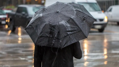 Photo of Heading out tonight? Bring an umbrella — it's going to be wet