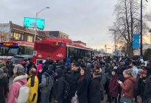 Photo of 'Partial derailment' shuts down subway Line 2 between Jane and Ossington stations