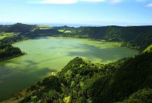 Photo of Espuma verde na Lagoa das Furnas