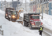Photo of St. John's making headway in post-storm recovery