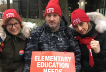 Photo of Elementary schools closed as teachers hit the picket line in provincewide strike