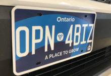 Photo of Ford government's blue licence plates officially scrapped, 'Yours to Discover' is back
