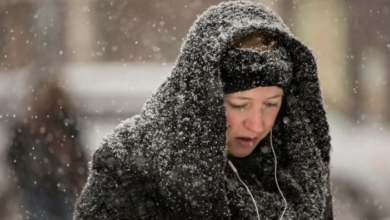 Photo of Wintry weather makes for sloppy morning commute — with more snow on the way