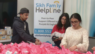 Photo of Sikhs create Valentine's Day care packages for women in GTA shelters