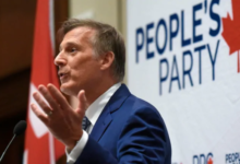 Photo of People's party leader Maxime Bernier sues political pundit for defamation