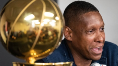 Photo of California police officer suing Masai Ujiri in wake of championship altercation