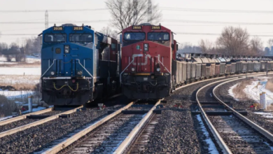 Photo of CN, CP trains sharing rail lines to keep supplying Canada during blockades