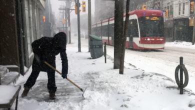 Photo of Wintry weather to make for slushy morning commute in GTA