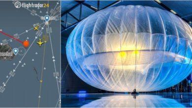 Photo of Balão da Google passou sobre a Madeira a 16 quilómetros de altitude