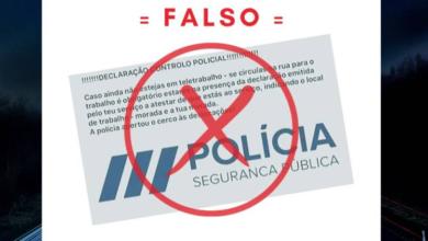 Photo of PSP alerta para falsa declaração que circula nas redes sociais