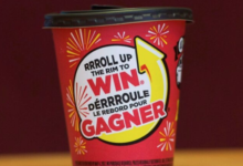 Photo of Tim Hortons scraps Roll Up the Rim contest cups amid coronavirus fears