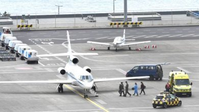 Photo of C130 traz material para a Madeira na sexta-feira