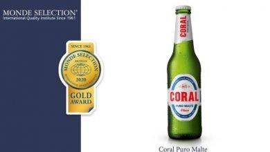 Photo of Coral Puro Malte ganha medalha de ouro pela Monde Selection