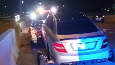 Photo of 19-year-old charged after Mercedes clocked doing 308 km/h on QEW