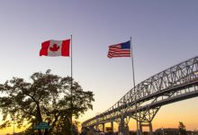 Photo of Canada-U.S. border to remain closed for another month as provinces slowly reopen