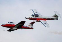 Photo of CF Snowbirds aircraft crashes near Kamloops